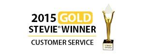 2015 gold stevie award customer service SAHOURI