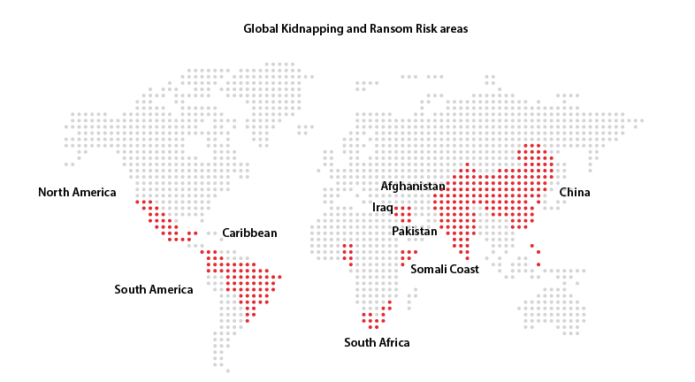 Kidnapping Risk Map