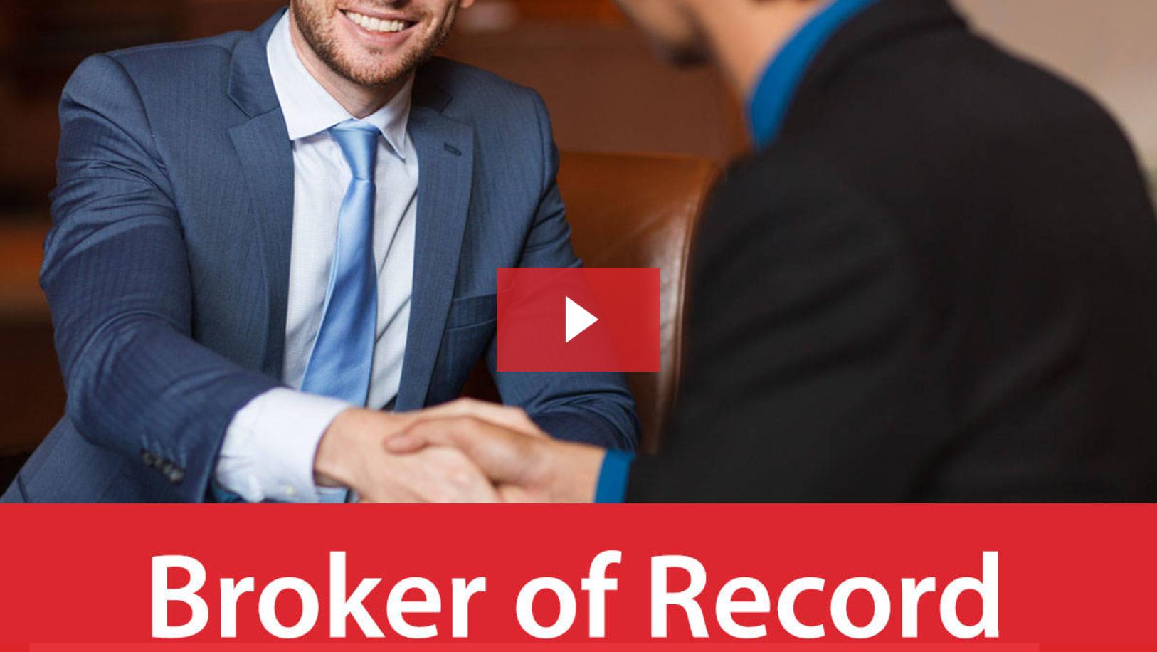 Broker of Record