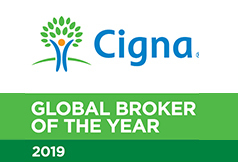 SAHOURI - CIGNA Global Broker of the Year 2019