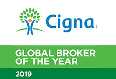 SAHOURI - CIGNA Global Broker of the Year 2019