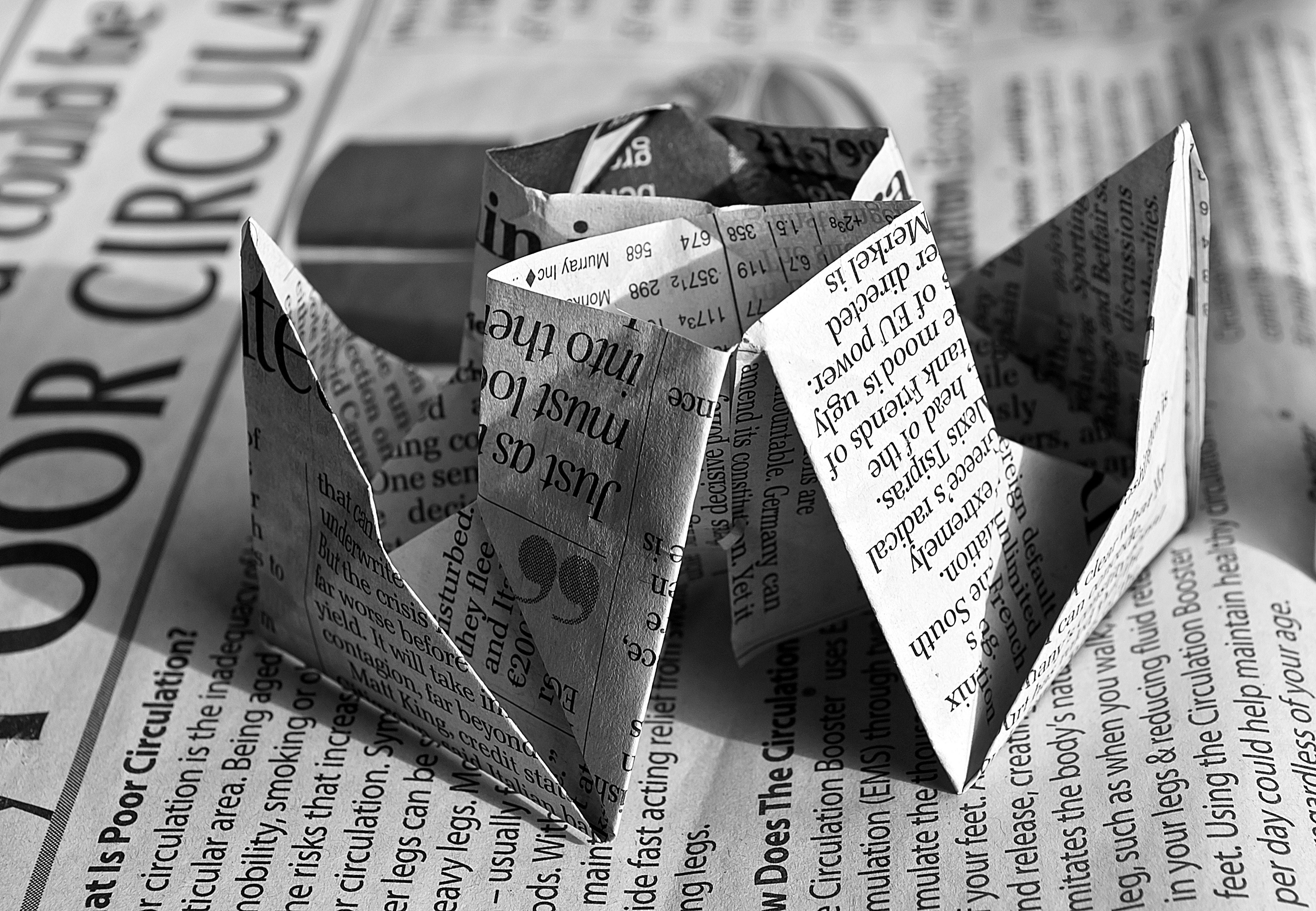 newspaper-origami-40906