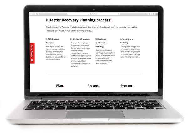 SAHOURI.Insurance Disaster Recovery Plan